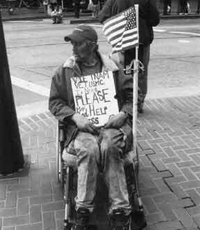 I am a Homeless Veteran